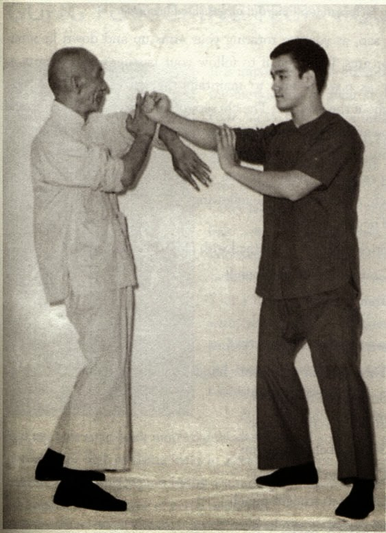 Ip Ma et Bruce Lee